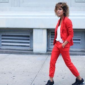 Express Red Women's Blazer